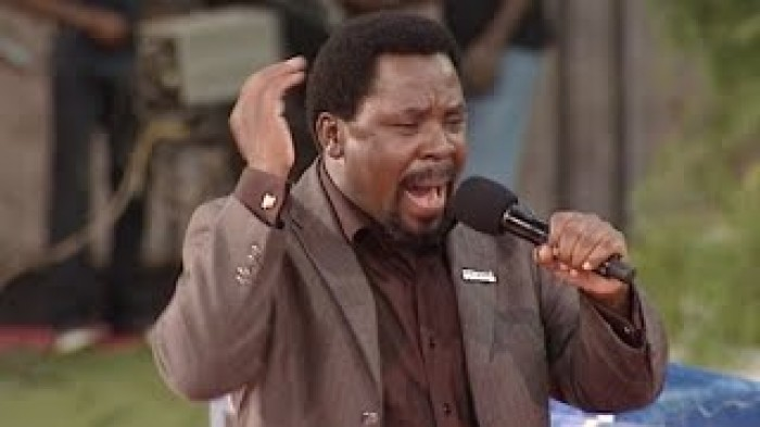 PRAY ALONG WITH PROPHET T B JOSHUA